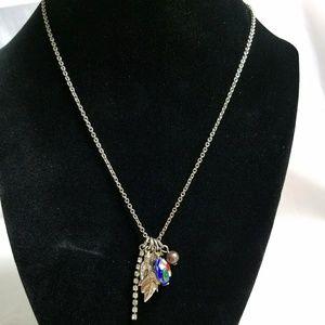 👑Cute Cloisonne Charm Necklace.
